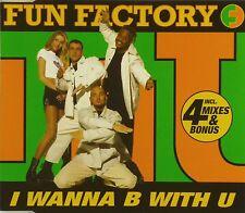 Maxi CD - Fun Factory - I Wanna B With U - #A2412