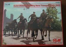 SOVIET DIVISIONAL HORSE ARTILLERY TEAM KIT - ICM 35482 1/35 SEALED
