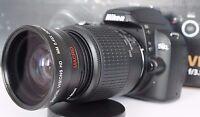 Wide Angle Macro Close Up Fisheye Lens for Nikon D3300 D3200 D3100 D40X dcpl