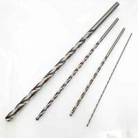 2~6mm Diameter Extra Long HSS Straight Shank Auger Twists Drill Bits 160/300mm