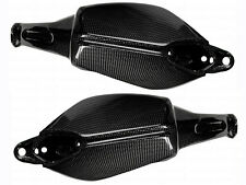 Ducati Hypermotard 821 SP Hyperstrada Hand Guard Protector Covers Carbon Fiber