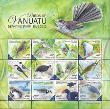"VANUATU - 2012 MNH ""BIRDS"" Souvenir Sheet !!"