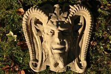 Gargoyle Dämon Teufel Wandhänger Nr. 2 frostfester Steinguss patiniert