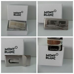 Montblanc Money Clip Stainless Steel Le Petit Prince Aviator BRAND NEW #123796
