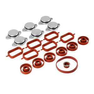 Manifold Gaskets & Swirl Flaps Kit #11617800585 for BMW 330d 530d 3 5 X3 X5 X6