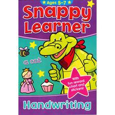 Snappy Learner Handwriting Education Book & Reward Stickers Age 5-7 (B080)