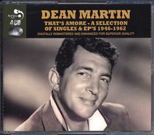 Dean Martin ‎– That's Amore - A Selection Of Singles & EP's 1946-1962 4CD NEW