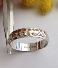 GRAZIOSA FEDINA IN ORO BIANCO 18KT - 18KT SOLID WHITE GOLD BAND RING