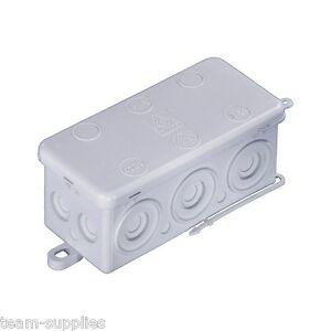 Wiska Combi KA 6 Empty Outdoor Electric Junction Box Weatherproof IP54 92x44x41