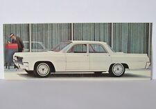 Vintage 1963 Oldsmobile Dynamic 88 Celebrity Sedan Advertising Postcard