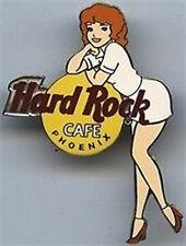 Hard Rock Cafe PHOENIX 2002 Girls of Rock Series PIN GOR #1 WHITE Uniform #11479