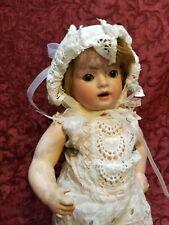 New ListingAntique German Bisque Head Toddler Doll Schoenau Hoffmeister Hanna Cute!