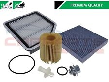 FOR LEXUS IS250 GSE20 2005-2013 HIGH QUALITY OIL AIR CABIN FILTER SERVICE KIT
