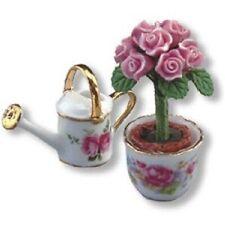 Dollhouse Hat Box Set 1.758//8 Reutter Roses on Pink Cream Miniature