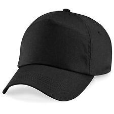 Baseball Hat Cap Sun Hat Adjustable Classic Cotton Summer 5 Panel Mens Womens