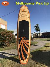 New 11' SUP Stand Up Paddle Board Surfboard Longboard Bamboo Veneer