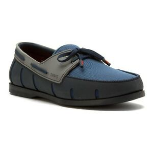 Swims Boat Loafer Navy/Denim Driving Moccasin Loafer Men's sizes 7-12 New!!!