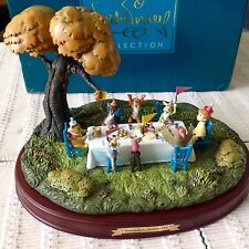 WDCC Hip Hip Pooh-Ray! Winnie The Pooh And The Blustery Day With COA~MINT