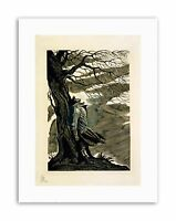 PAINTINGS HEATHCLIFF WUTHERING HEIGHTS BRONTE BLACK WHITE Poster Painting