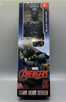 "NEW Marvel Avengers Black Panther Titan Hero Series 12"" Action Figure Hasbro BL"