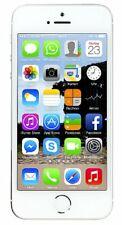 "Apple iPhone 5s ARGENTO 16gb 4"" Retina Display 8mp Ovp Senza SIM-lock"