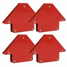 4x 25Lb Magnetic Magnet Arrows Welder Welding Holder 3 Angles Soldering
