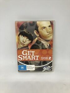 GET SMART Season Two DVD Region 4 Classic Comedy TV Show Very Good Condition