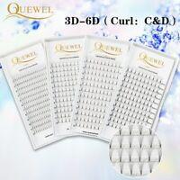 Quewel® Premade Volume Fans Lash Russian Volume Professional Eyelash Extensions