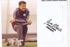 Juan Arbelaez  Red Bull New York  30 x 20 cm Fußball Karte signiert 403190