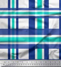 Soimoi Fabric Gingham Check Print Fabric by Meter - CH-46B