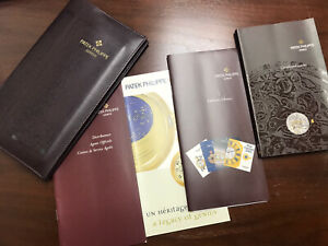 PATEK PHILIPPE GENUINE COMPLICATED WATCHES INSTRUCTIONS MANUAL BOOKLET & Folder