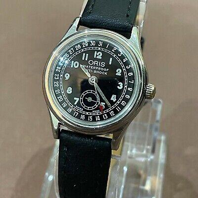 Vintage Oris Pointer Calendar Date Watch Stainless Bracelet