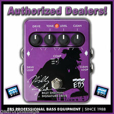 EBS Billy Sheehan Signature Drive Pedal NEW FULL WARRANTY! bass overdrive