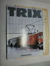 Trix Katalog 86/87 mit Preisliste 1986