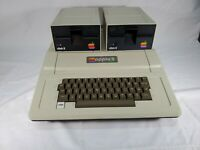 Vintage Apple II Plus Computer Complete with 2 Disk Drives + Microsoft Ram Card