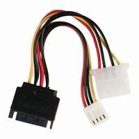 Nedis Internal Power Cable SATA 15-pin Male to Molex Female +FDD Female 0.15m