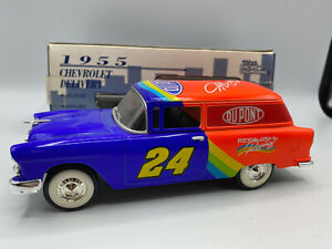 Spec Cast Liberty Jeff Gordon 1955 Chevy Chevrolet Sedan Delivery 1/25 Coin Bank