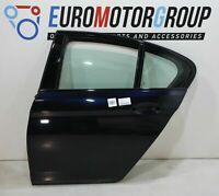 BMW Posteriore Sinistro Porta Alluminio 5er G30 F90 Nero Carbone 416