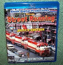 "20129 BLU-RAY HD VIDEO ""STREET RUNNING"" HO SCALE CITY EDGE"