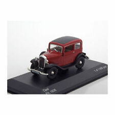 WHITEBOX WB151 - 1/43 SCALE OPEL P4 DARK RED/BLACK 1935 DIECAST MODEL