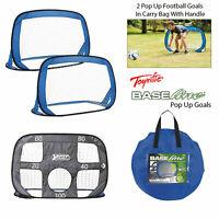 Toyrific Kids Pop Up Football Goal Post - Set Of 2 Garden Activity Children Game
