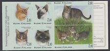 CATS :FINLAND 1995 Cats booklet  complete  SGSB47 MNH