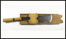Vintage Philippines Luzon pinahig bolo knife spear RARE Moro kris barong LOOK