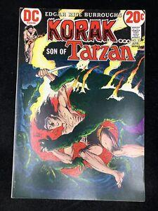 Korak Son of Tarzan #51 (DC 1973) Joe Kubert cover ~ Carson of Venus ~ 8.0 VF
