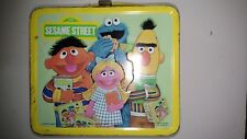 "Child's ""Sesame Street"" -Metal Lunch Box- 1979 Aladdin Industries no thermos"