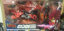 GI Joe Classified BARONESS w/ COIL BIKE Target Exclusive Cobra Island NEW