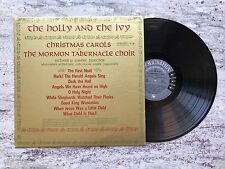 The Holly And The Ivy Christmas Carols Record ML5592 Columbia
