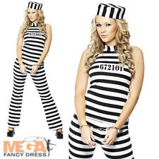 GALEOTTO Pantalone Uniforme M 12-14 Donna Costume Poliziotti & Ladri Costume da donna