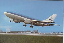Postcard 1273 - Aircraft/Aviation KLM Airbus Schiphol Airport