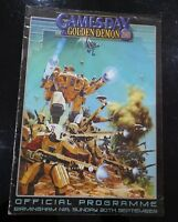 GAMES DAY AND GOLDEN DEMON 2001 OFFICIAL PROGRAMME WARHAMMER